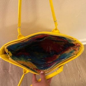 Bags - Yellow purse